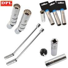 """14 ou 16mm ponto removedor chave spark plug soquete de parede fina 3/8 """"drive para bmw para mercedes para benz nisan"""
