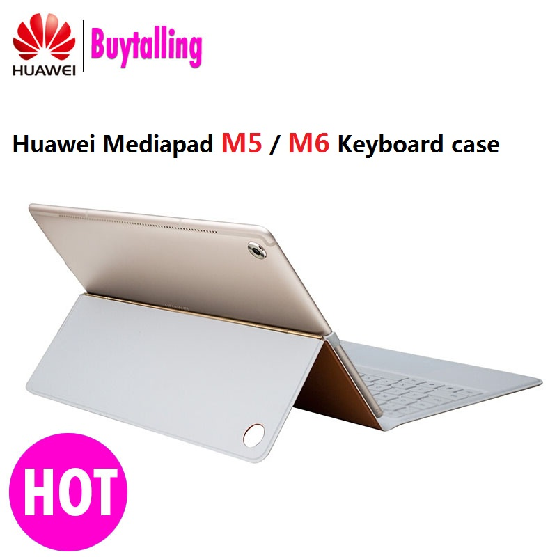 High Quality Ultra thin Detachable Docking Huawei M5 Keyboard Case cover Huawei MediaPad M5 10 8