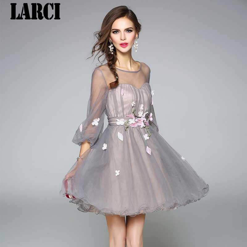 1c88a08a31 Detail Feedback Questions about LARCI Summer mesh Dresses women 2018 ...