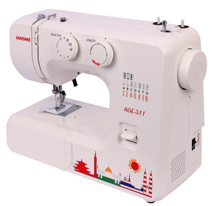 Japanese Household Multifunctional ADE 40 Limited Edition Janome Adorable Janome Mini Sewing Machine