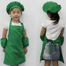 Горячая Распродажа детский простой кухонный фартук, приготовление пищи, Рисование для выпечки, художественный нагрудник, Детский фартук, кухонные принадлежности