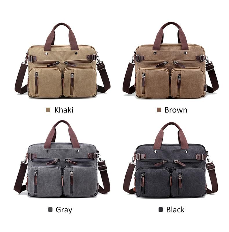 HTB1RoOkaLfsK1RjSszbq6AqBXXaw Men Canvas Briefcase Business Laptop Handbag Large Messenger Shoulder Bag Big Casual Male Tote Back Bags Travel Suitcase XA162ZC