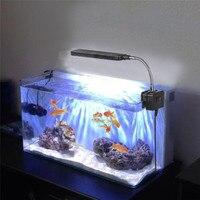 EU 2W 4W Mini Aquarium Light Lamp Coral Reef Aquatic Animals Fish Tank 1Pcs