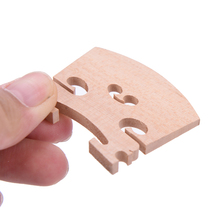 Violin-Bridge Wooden-Fitting Music-Instrument for Size 1/4