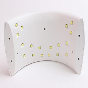 Image 3 - 36w led מנורת לציפורניים UV נייל מנורת LED אור נייל מייבש מנורת עם USB כבל עבור מקצועי מניקור uv מנורת 18w