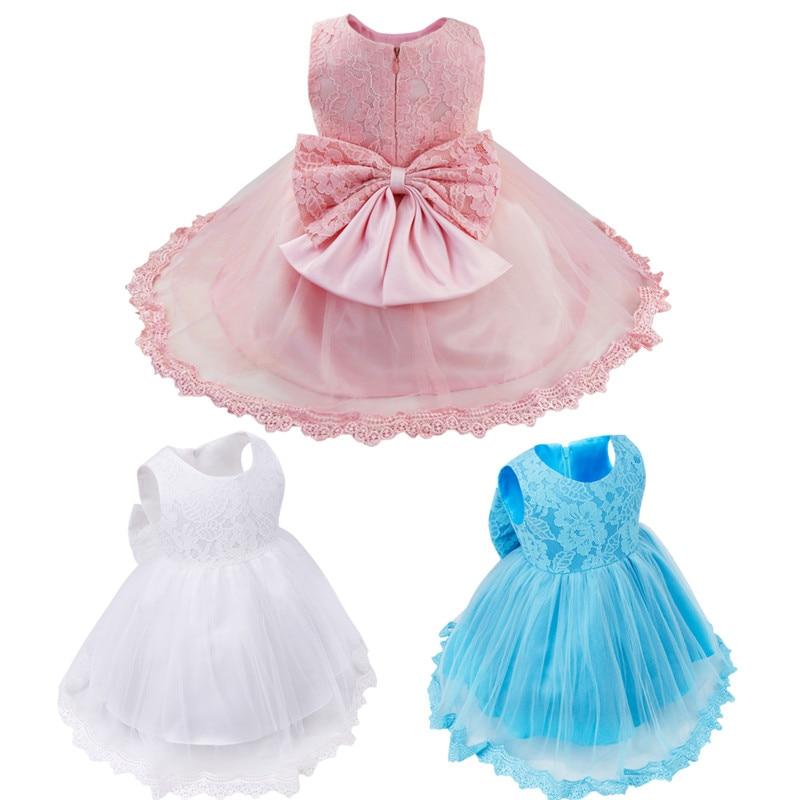 Vestido del bebé del verano 2017 princesa niños ropa traje de boda ...