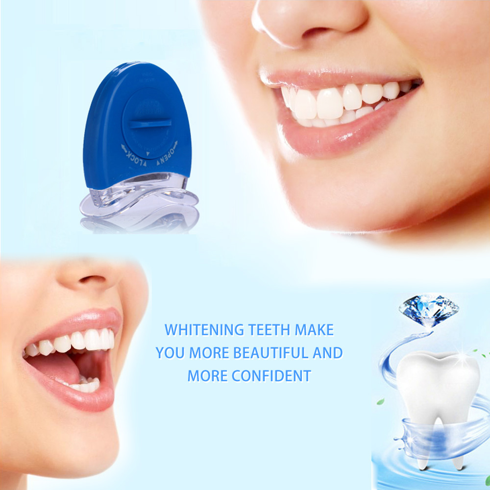 Us 3 4 20 Off Home Kit Dental Set Teeth Whitening Gel Dental Trays Dental Bleaching System Tooth Whitener Light Equipment Teeth Care Tools In Teeth