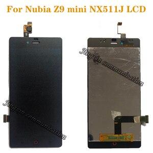 Image 1 - Cho ZTE Nubia Z9 Mini nx511j MÀN HÌNH LCD + Bộ số hóa cảm ứng thay thế cho ZTE Nubia Z9 Mini nx511j hiển thị chi tiết sửa chữa