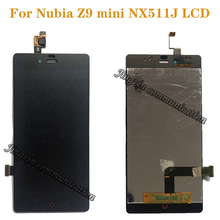 Per ZTE nubia z9 mini nx511j LCD + touch screen digitizer Assembly di ricambio per ZTE nubia z9 mini nx511j display parti di riparazione