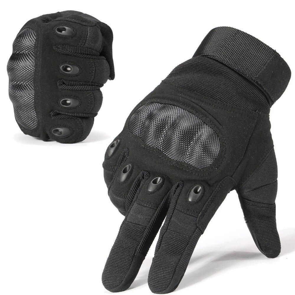 Nieuwe Merk Tactische Handschoenen Militaire Leger Paintball Airsoft Schieten Politie Carbon Hard Knuckle Combat Volledige Vinger Handschoenen voor Man