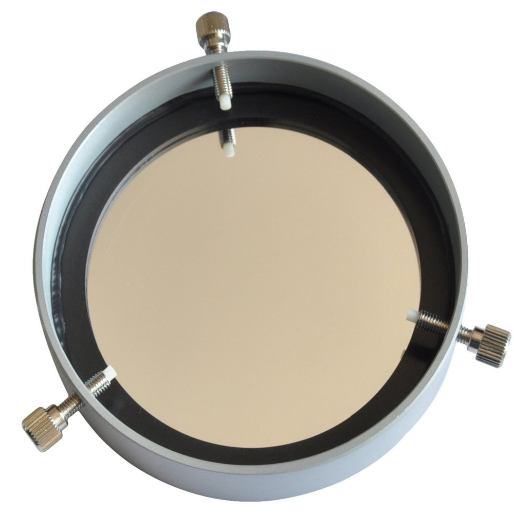 Brand New Full Aperture Astronomical Telescope Solar Filter (Silver) - Aluminum Baader Solar Cap 66-94mm ( 2.6