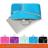 Draagbare 11,12, 13,14 15.6 inch Universele Laptop Ultrabook Notebook Skin Bag & Macbook Pro Mouw Case Vrouwen mannen