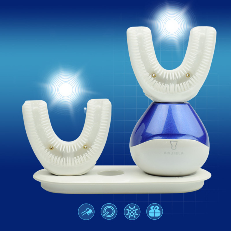 In Stock!! Wireless Charge Adult Electric Toothbrush Rechargeable Ultrasonic 360 Degree Intelligent Fully Automatic Toothbrush in stock whitening automatic toothbrush automatic electric ultrasonic toothbrush 2 head fast cleaning teeth wireless charging