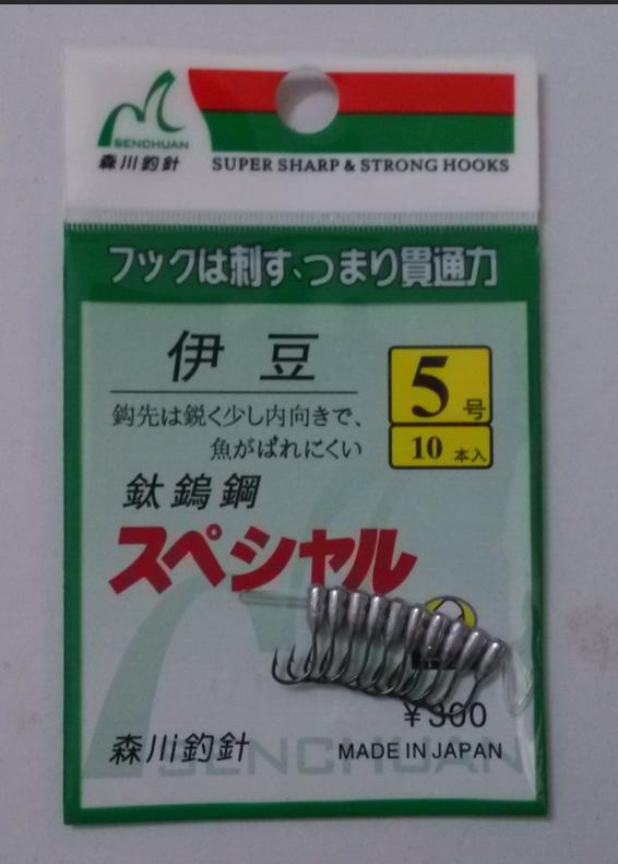 Image 3 - Japan Overturned Hook Titanium Tungsten Barbed Fishhook Tin Jig Head Stand Hooks-in Fishhooks from Sports & Entertainment