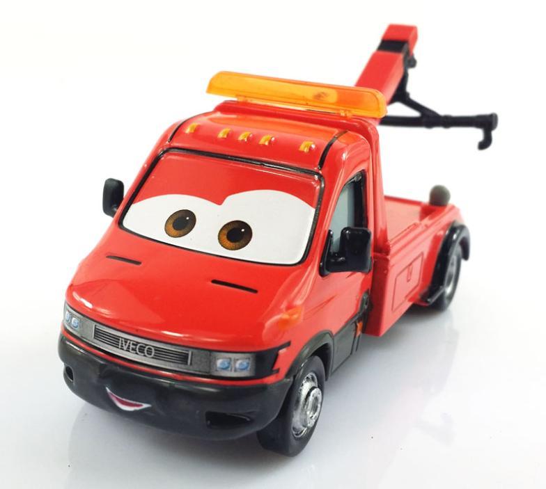 100 Original Rare Pixar Cars 2 Movie Towin Eoin Iveco Tow Truck