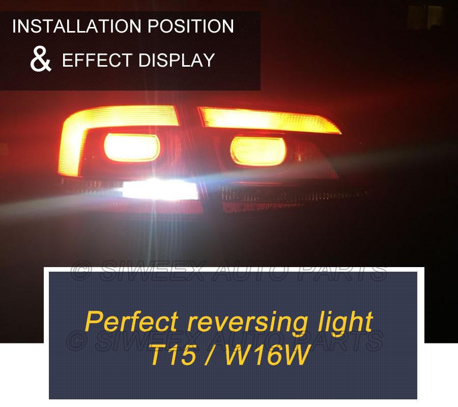 HTB1RoQJouuSBuNjy1Xcq6AYjFXav T15 W16W 921 Super Bright High Power 45 SMD 4014 LED Canbus No ERROR Car Backup Reserve Lights Bulb Brake Lamp Xenon White