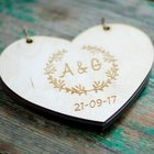 personalize rustic w...