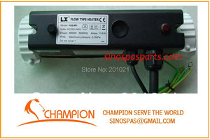 Image 5 - LX 3kw I shaped Spa bathtub Heater   H30 R1 with seperate pressure switch by second wire Chinese spa heater