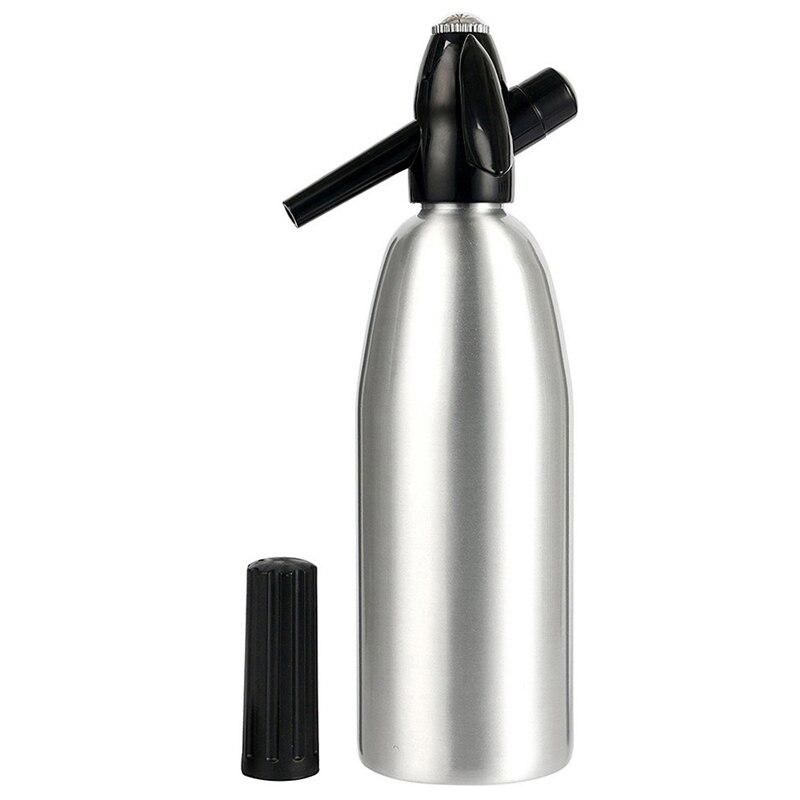 Soda Soda Siphon 1L Co2 Flash de Alumínio profissional Ferramenta Vara