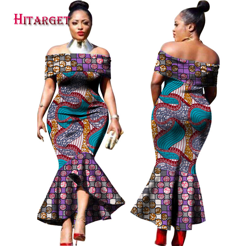 2019 new fashion design traditional african clothing print
