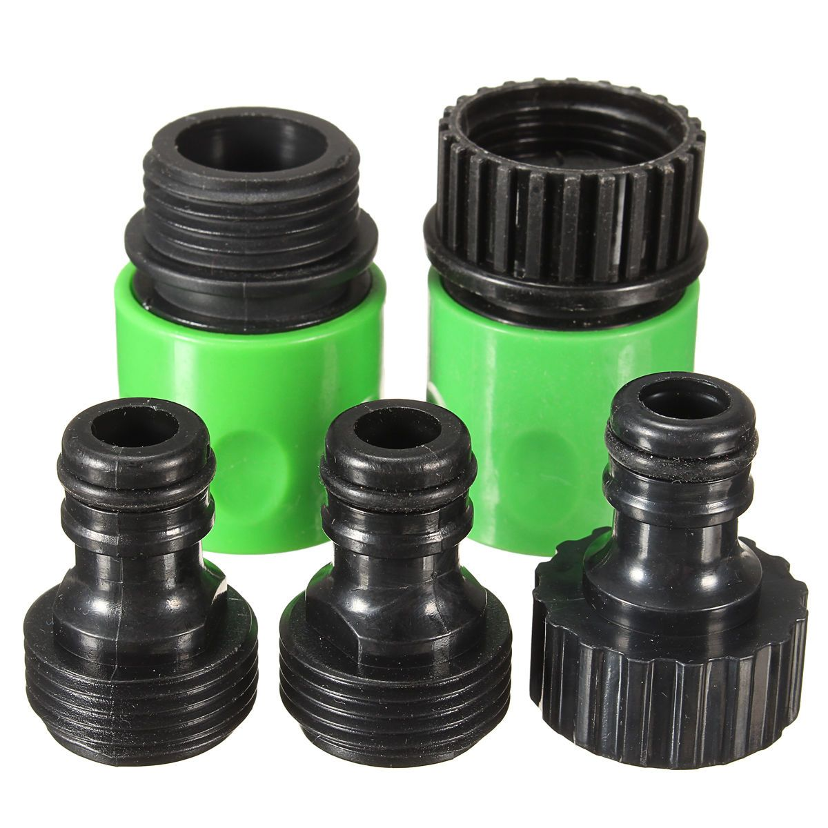 Mayitr 5Pcs Garden irrigation Water Hose Pipe Joint Rubber Hose ...