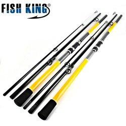 FISHKING 99% Carbonio 3 Sezione 3.6 M 3.9 M 4.2 M 4.5 M Carpa Canna Da Pesca Peche Pesca Affrontare All'aperto sport
