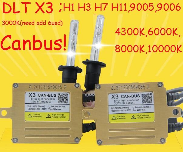 DLT X3 HID KIT,Canbus kit,X3,35W 12V,hid xenon kit,Free ship!2pcs X3+2pcs CNBulb,H1 H3 H7 880 881 9005 9006,H11,4300 6000 8000K gztophid xenon conversion headlamp kit cnlight straight bulb car lamp h 7 h3 h1 h9 h11 9005 9006 h27 880 881 free shipping