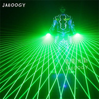 2019 New free Shipping High Quality Laser Gloves Concert Bar Show Glowing Costumes Prop Party DJ Singer Dancing Lighted Gloves