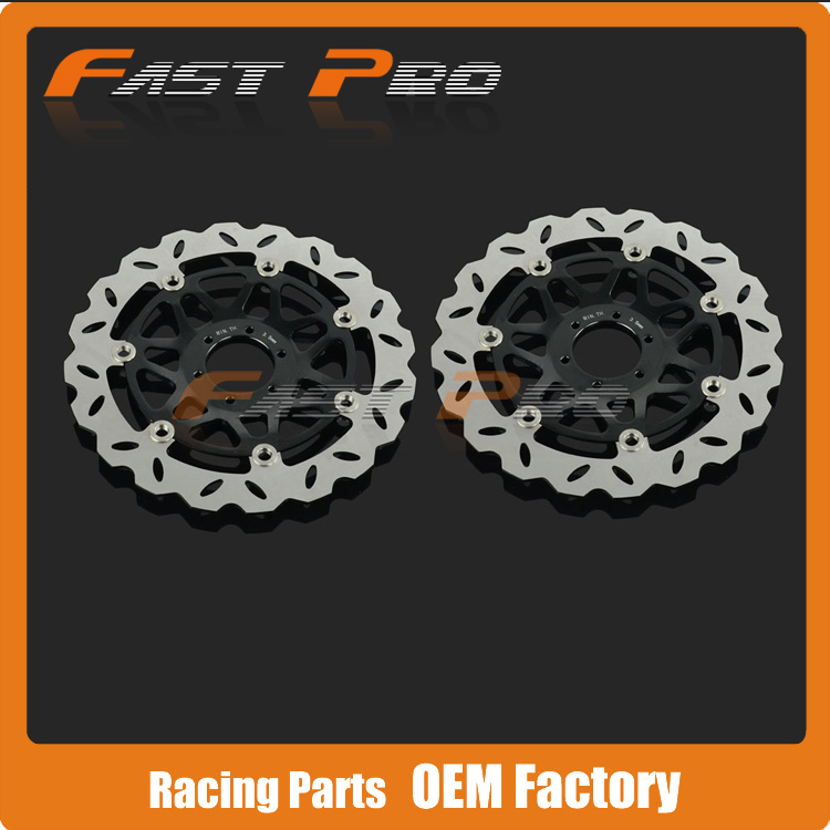 1 Pair Front Brake Disc Rotor For Honda CB400 CB400SF SuperFour 99 00 01 02 03 04 05 06 07 08 09 Motorcycle Street Bike рычаги тросики и кабели для мотоцикла rctoper honda vtr1000f firestorm 98 99 00 01 02 03 04 05