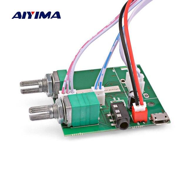 AIYIMA Mini 5V Bluetooth 5.0 amplifikatör ses kartı 5W * 2 + 10W 2.1 Subwoofer amplifikatör dijital amp ev ses sineması