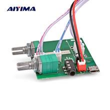 Placa amplificadora de áudio aiyima mini 5v, bluetooth 5.0, 5w * 2 + 10w, subwoofer digital teatro de som de casa amp