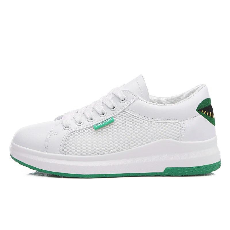 Спортивные кроссовки женщина открытый воздухопроницаемая комфортная обувь для него и для нее легкие спортивные кроссовки сетки Для женщин... - 3