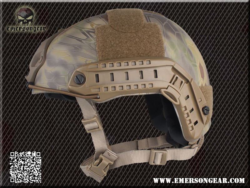 EMERSON FAST Helmet MH tactical helmet paragraph military version -TYP Highlander Mandrake AT FG BK FG Digital Desert MC DE
