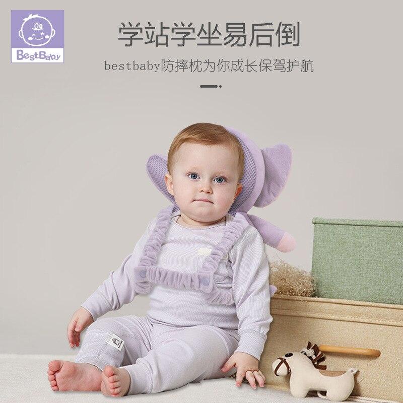 Bébé Anti-chute oreiller bébé tête Protection coussin enfants apprendre à marcher, Anti-chute Protection, Anti-coup tête dos oreiller