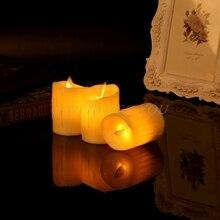 Tea Light Candle Wedding Swing Flameless Flickering Electric Christmas-Decor LED