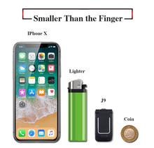 Mini Flip Mobile Phone LONG-CZ J9 0.66″ Smallest Cell Phone Wireless Bluetooth Dialer FM Magic Voice Handsfree Earphone For Kids