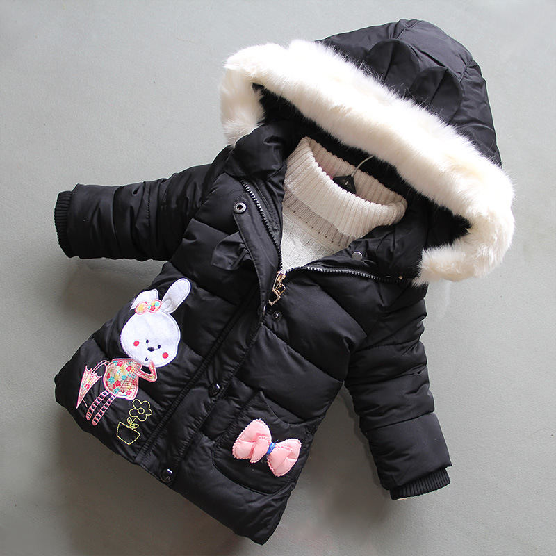 Mother & Kids Tireless Bibicola Baby Girls Winter Outerwear Newborn Baby Cotton Thick Down Parkas For Bebe Girls Toddler Warm Hoodies Infant Clothing Jackets & Coats