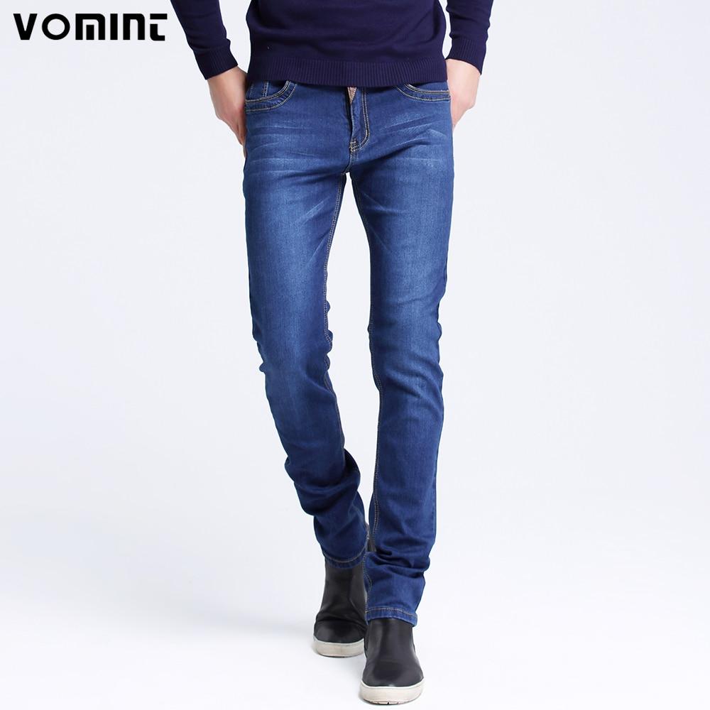 Vomint 2018 Men Jeans New Fashion Splice