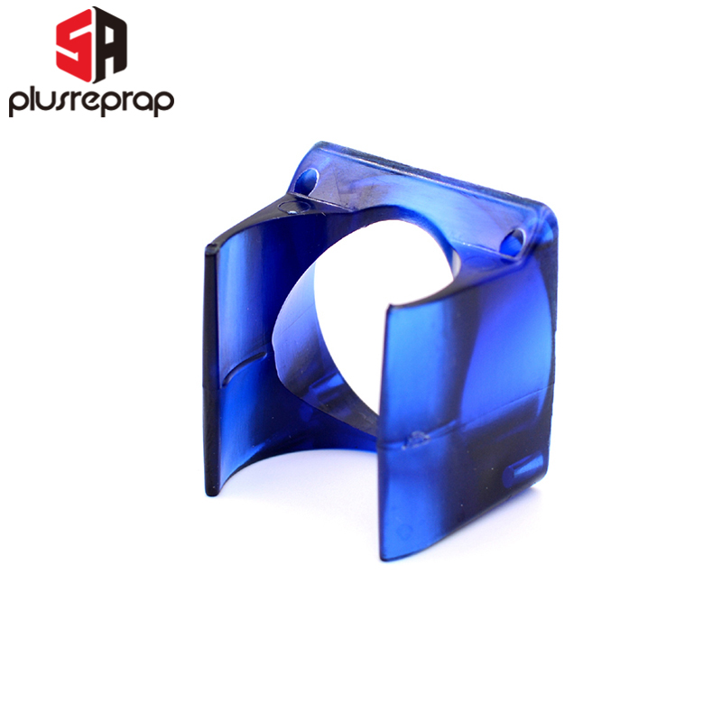 1PC V6 Fan Duct Fan Housing Guard Compatible with V6 J-head Hotend 3D Printer Injection Moulded