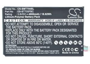 EB-BT705FBC батареи Cameron Sino 4900mAh для Samsung SM-T700, SM-T705, SM-T705C, SM-T705D,SM-T705M,T705Y, T707,T707A,T707D,T707V