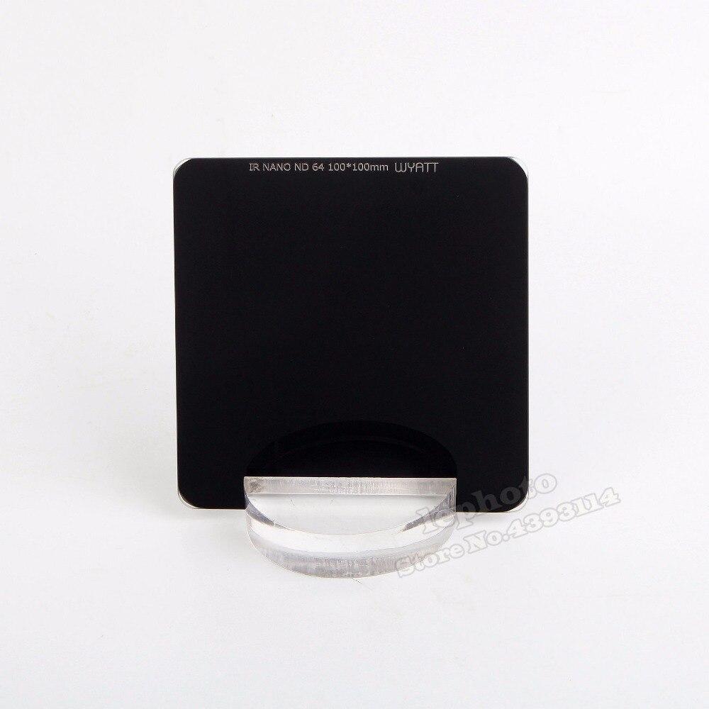 WYATT 100x100mm IR NANO MC Neutral Density Filter ND 1000 64 8 3 6 10 Stop