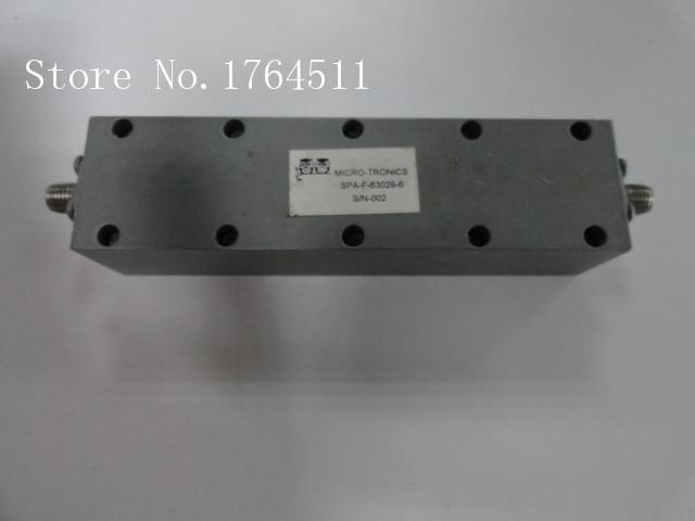 [BELLA] MICRO-TRONICS SPA-F-63029-6 2-4GHZ RF Bandpass Filter SMA (F-F)