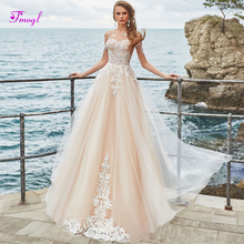 fsuzwel Fmogl Romantic Wedding Dress 2019 Long Sleeves