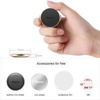 Baseus Univeral Magnetic Car Phone Holder Air Vent Mount Magnet Dashboard Car Holder Desk Wall Sticker Mobile Phone Holder Stand