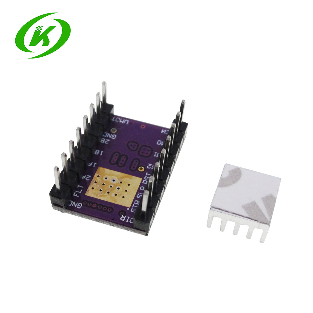 Купить с кэшбэком 10pcs/lot 3D Printer StepStick DRV8825 Stepper Motor Drive Carrier Reprap 4-layer PCB RAMPS