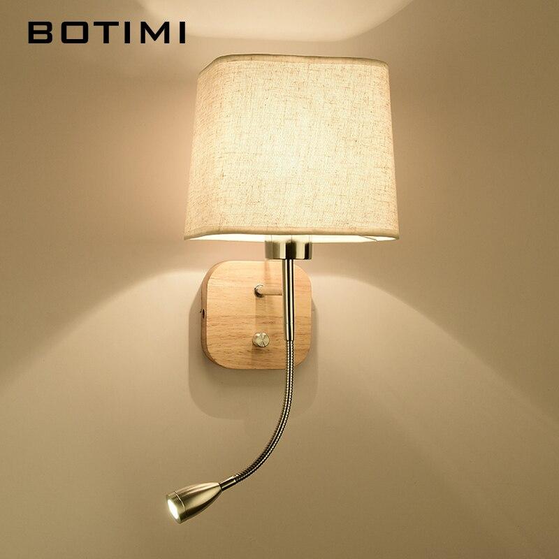 BOTIMI Nueva lámpara de pared LED para sala de estar junto a la cama - Iluminación interior - foto 5
