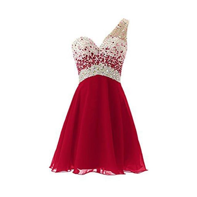 Red Cute Cheap Dresses