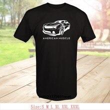 6631293115 Men T shirt Print Tshirt Short American Muscle Chevy Camaro Z28 Racer V8 Car  Best Quality