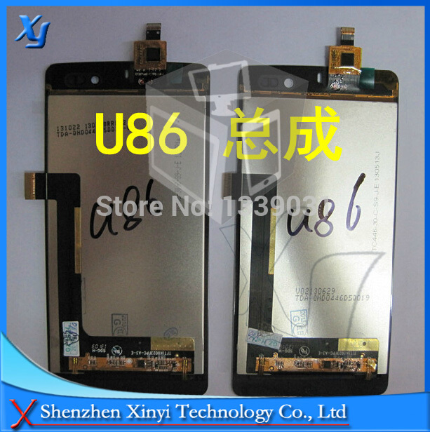 New Original for Tianyu K-touch U86 4.5 LCD screen display panel + touch digitizer complete Black by free shipping 100% tested 5pcs lot free shipping 100% new original for tcl y900 lcd screen touch panel for tcl y900 lcd display 100% tested