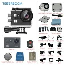 TEBERBOOM H9S Action camera HD Ultra 4 k WiFi 1080 p 30 m à prova d' água